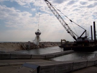 North Point Marina Dredge